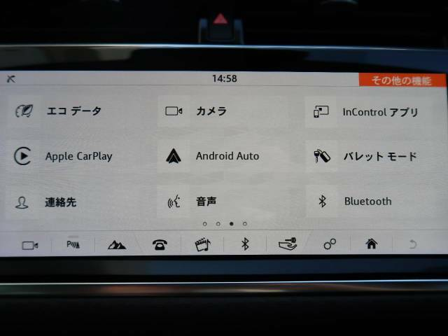 Apple CarPlay、Android Autoが装備。Googleマップのミラーリング、その他のオーディオアプリが使用出来ます♪
