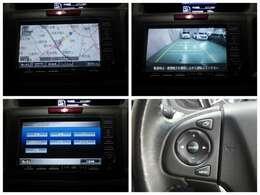 ナビはメーカー純正HDDナビ装着、インターナビ対応、音楽ソースはCD,DVD,フルセグTV,サウンドコンテナ、USB接続等になります。