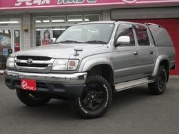 トヨタ ハイラックス スポーツピックアップ 2.7 ダブルキャブ ワイドボディ 4WD シェル付き