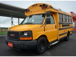 GMC サバナ スクールバス ショート 新型現行サバナ カリフォルニアスタイル