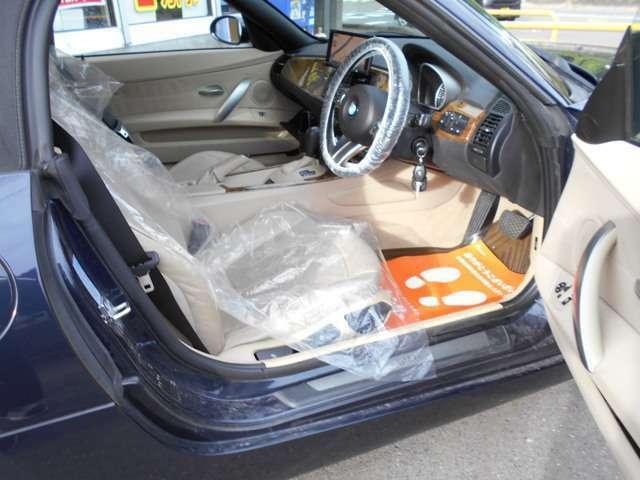 除菌抗菌クリーニング施工でお子様にも安心の車内環境!気になるタバコの臭い・ペットの臭いもありません。車内・内装にこだわる方にはお勧めに1台!