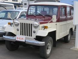 三菱 ジープ 2.6 4WD ロングバン クーラー