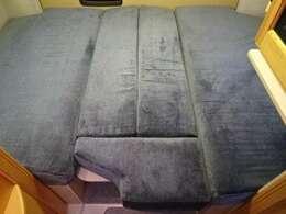 ベッド寸法は180×133センチ☆ゆったりとおくつろぎいただけます♪