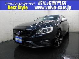 ボルボ V60 D4 Rデザイン ディーゼルターボ 2017モデル/インテリ/黒革/純ナビ/1オナ/保