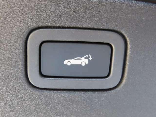 パワーテールゲート搭載!ボタン操作一つでリアゲートの自動開閉をおこないます。