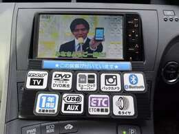 ドライブの必須装備、HDDナビ&ETC付!TV、DVD再生も可能です!購入時から付いているとお得な装備が満載♪