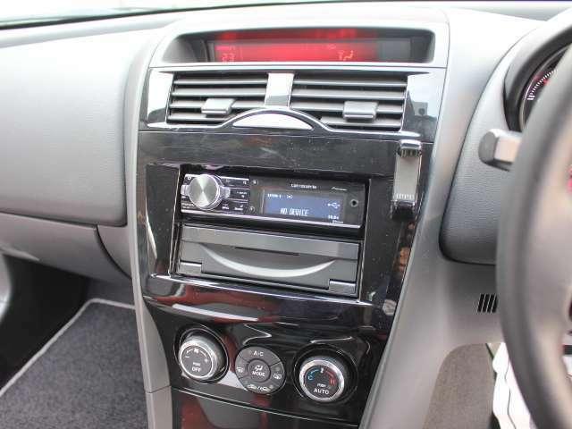 カロッツェリア製オーディオ装備でドライブも楽しめます♪