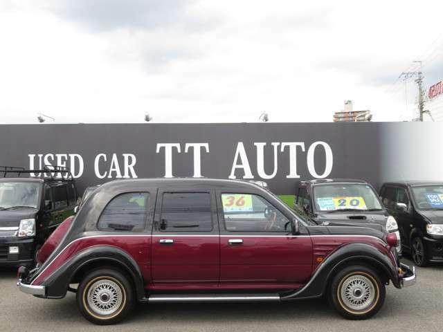 右側面!買取だけではなく、欲しい車もお探ししています!是非お気軽に店頭へお越しください!
