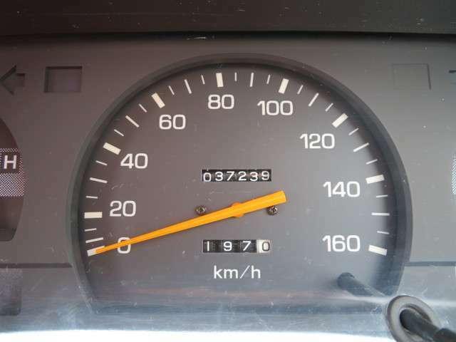 走行管理システムチェック済み!実走行37239km!