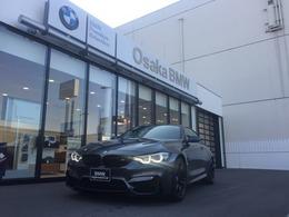 BMW M4クーペ M DCT ドライブロジック 弊社下取り1オナ地デジ黒革カーボンルーフ