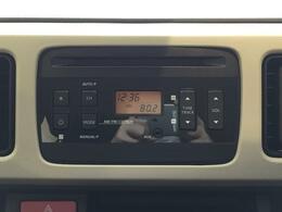 純正AM/FMラジオ付きCDプレーヤー。お好きな音楽を聴きながらドライブが楽しめます。