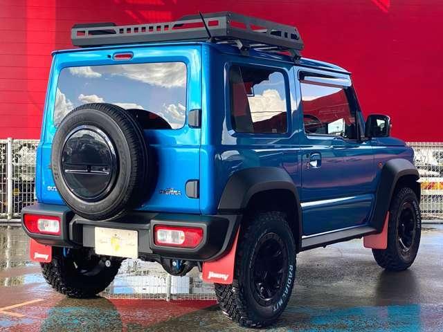 主要装備☆XTREME-J16AW ホワイトレターオールテレーンタイヤ 専用キャリア SUZUKIグリル 純正マッドフラップ LEDヘッドライト スズキセーフティサポート シートヒーター