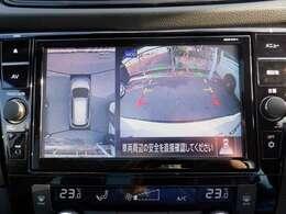 インテリジェントパーキングアシストは、車庫入れ、縦列駐車を補助する機能です。 アラウンドビューモニターのトップビュー画面で設定した駐車目安枠付近へ駐車するように自動でハンドル操作をします。