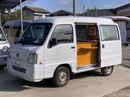 スバル サンバー 660 VB 2シーター キッチンカー 移動販売車 オートマ