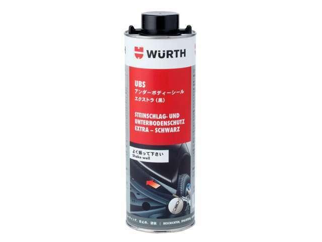 優れた防錆力と定着性を持ち、乾燥後も摩耗に強く弾力性を保ちます。安価なシャーシブラックよりも強力な塗膜で飛び石、跳ね水、塩害、摩擦に対する耐性に優れております。優れた吸音・防振効果も発揮致します。