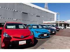 高品質なU-carが揃っております。ご購入後も安心のロングラン保証付 車はトヨタ♪カローラ中京へゴー♪