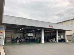 サービス工場併設なので、修理・点検・車検もお任せ下さい。