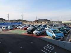 U-Car展示場では、数多くのお車をご用意しております!