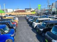 ビッキーは軽自動車39.78専門店です!全車修復歴なし!の安心なお車をお値打ちでご提供します♪