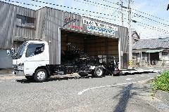 中部陸運局認証自社工場完備! 積載レッカー車も完備でアフターも安心のサポート体制もOK!