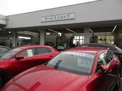 サービス工場併設です。軽自動車から商用車までご購入後のアフターメンテナンスもお任せください☆