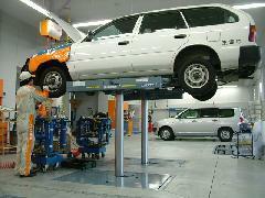 オープンしたての整備工場です。お車に不調があればこちらまで!