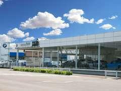 名鉄BMWプレミアムセレクション小牧では展示場拡張常時300台展示