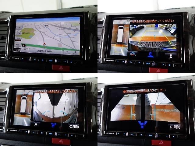 もちろんパノラミックビューモニターの映像をナビに映せるように、配線加工済みです♪