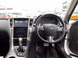 見通しが良く運転しやすい視界でドライブが楽しくなります。