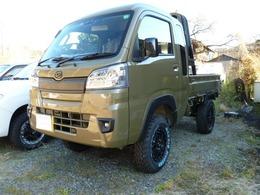 ダイハツ ハイゼットトラック 660 ジャンボ SAIIIt 3方開 4WD 4インチリフトアップ