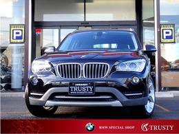 BMW X1 xドライブ 20i xライン 4WD 後期型 8AT 4WD 黒半革 1年保証