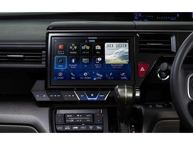 スマイルセットNo.1 【10インチナビ】パイオニアのサイバーナビ10インチを取り付け致します。2ゾーン対応ですのでリアモニターの追加もお勧めです。※走行中にTVが映ります。