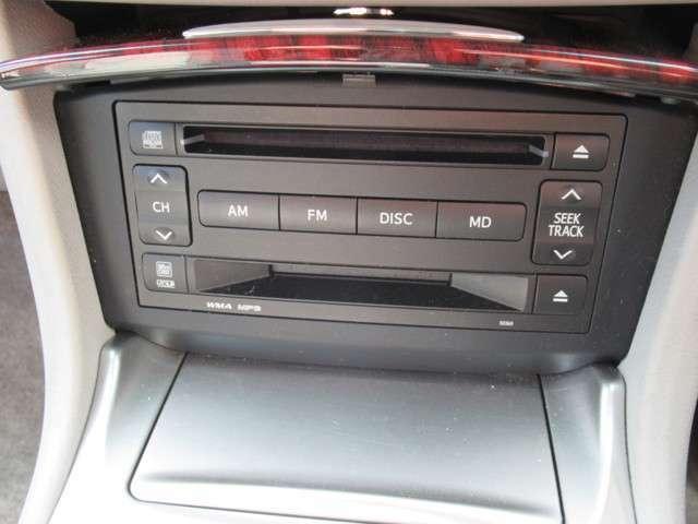 CDチューナー付き。好きな音楽を聴きながら快適ドライブ!