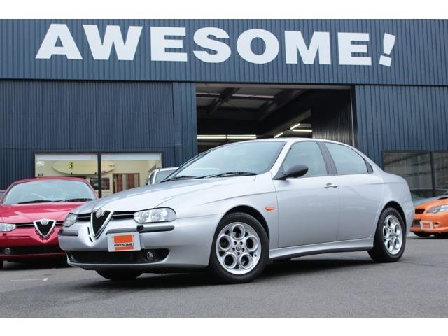 フェイズ1後期モデル 1オーナー 記録簿 タイベル・W/P交換済 フルオリジナル 走行4.1万キロ コンディション良好な156 2.5V6 6MTです!