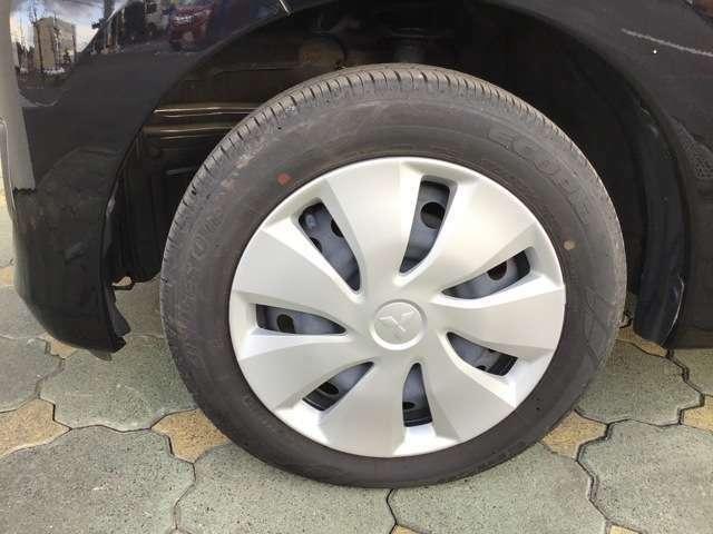 装着タイヤ/スチールホイール