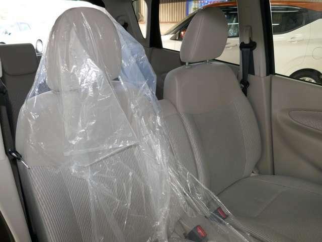 運転席シート