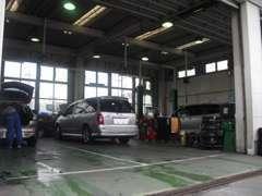 指定工場完備!マツダ車のプロ、国家整備士が丁寧にご対応します