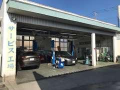 指定工場完備!車検や板金修理、自動車保険もお任せ下さい!