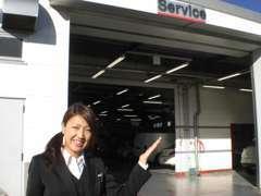 ★サービス工場も完備しております。ご購入後のメンテナンスもお任せ下さい★