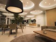 ネスプレッソのカフェが併設されております。