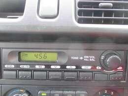 ラジオチューナーついてます♪