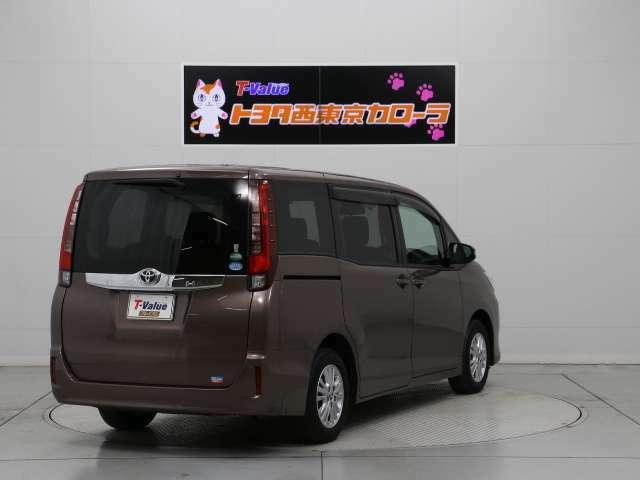 安心の中古車ロングラン保証1年(無料)とトヨタ工場による安心の法定整備付!