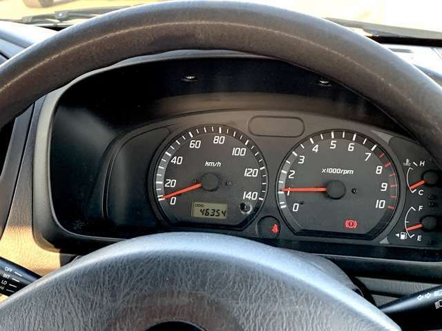 [メーター周り]見やすいメーターで快適なドライブを!