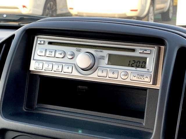 [オーディオ]CDオーディオ!AM/FMも走行中に視聴可能です!!
