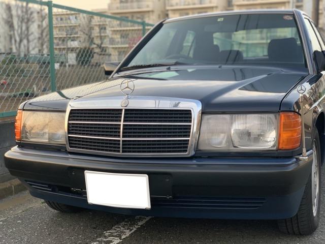 1992年式 190E です。