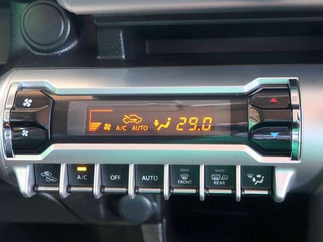 操作しやすいオートエアコンで車内は快適ですね!