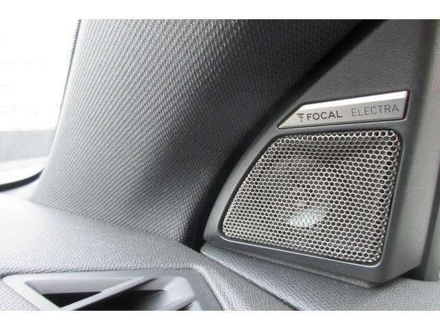 FOCAL ELECTRAスピーカーが12個!重低音の響きが良く、臨場感ある音楽を楽しんで頂けます。