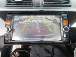 バックモニターもついています。後退時の安全確認ができて、スマートに駐車できます!