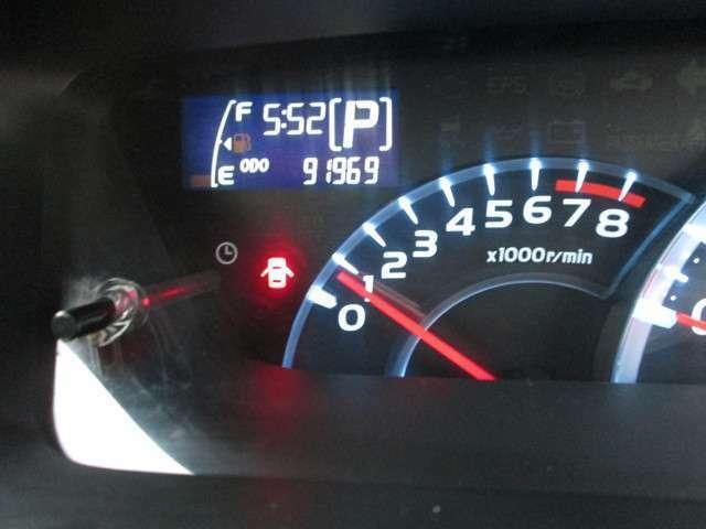 走行距離は、 91,969kmですよ。
