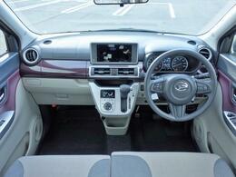 シンプルで、見晴らしの広い、誰にも運転しやすいデザインになっています。